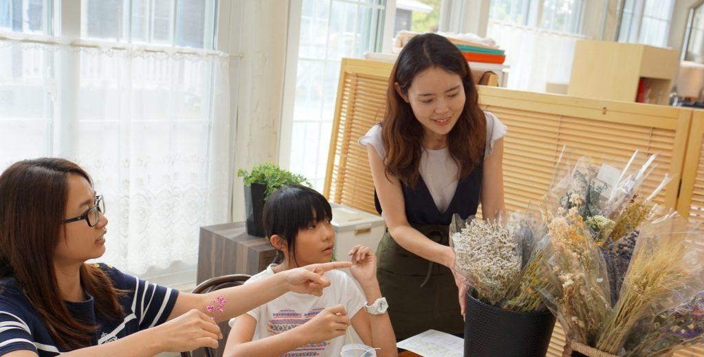 十勝ヒルズ 花キャンドル体験