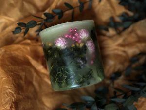 花キャンドル